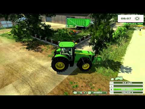 Farming Simulator 2013 on Holzhausen Agriculture Forestry map pt4