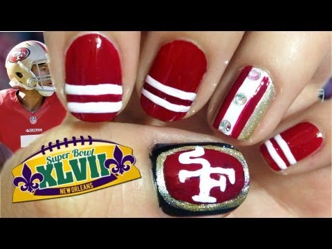 Videos to Nail Art 49ers