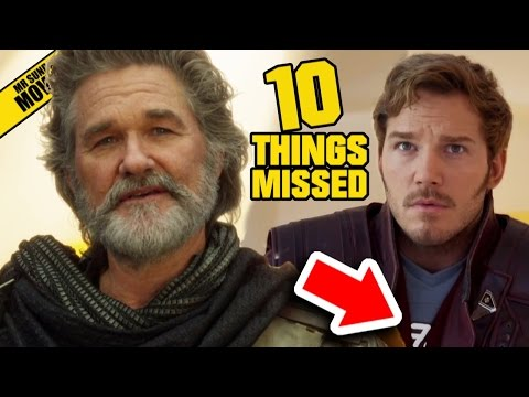 Easter Eggs and References in the Trailer for Guardians of the Galaxy Vol