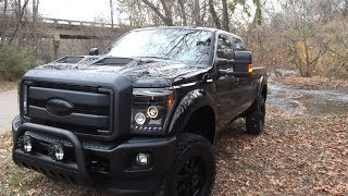 2014 F250 Black Ops By Tuscany Fully Loaded - Ford Of Murfreesboro