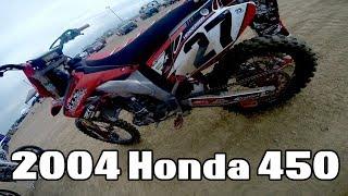 Video First Ride - 2004 Honda CRF 450 MP3, 3GP, MP4, WEBM, AVI, FLV November 2017