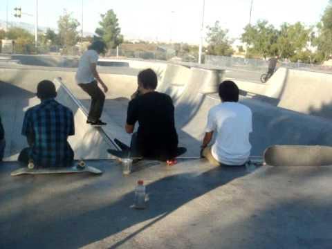 Ryan Sheckler , Sean Malto,  And Mikey Taylor at Desert Breeze