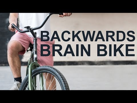 Mike Boyd Attempts to Learn to Ride a Backwards Brain