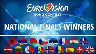 Video Eurovision 2018   My winners from each natinal finals [so far] MP3, 3GP, MP4, WEBM, AVI, FLV Maret 2018