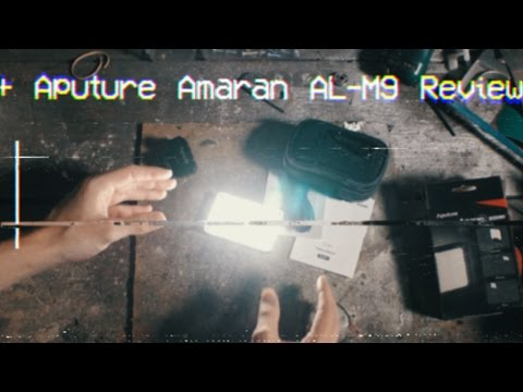 Aputure Amaran M9 LED Light Review