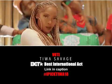 Tiwa Savage  -BET Awards Best International Act Nominee