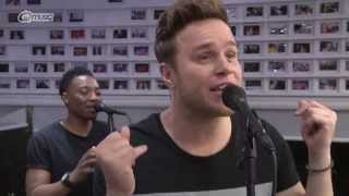 Olly Murs - 'Wrapped Up' // live bij Q-music