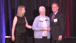 Dottie Schonlau receives VOYCE Caregiver of the Year award