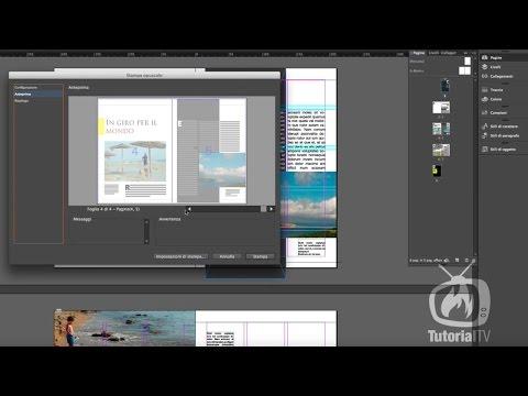 InDesign CC - Creare l'imposizione di un documento con stampa opuscolo