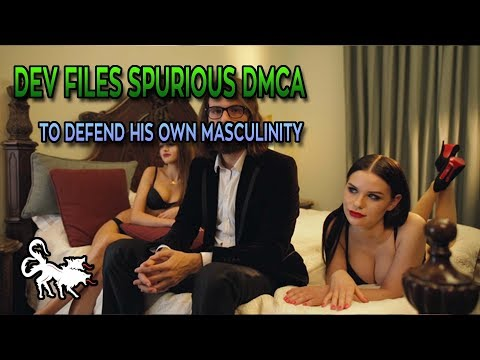 Developer issues spurious DMCA to prove his masculinity