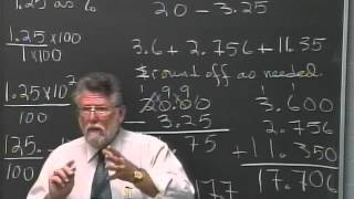 Lecture 23 - Developmental Arithmetic: Math 10