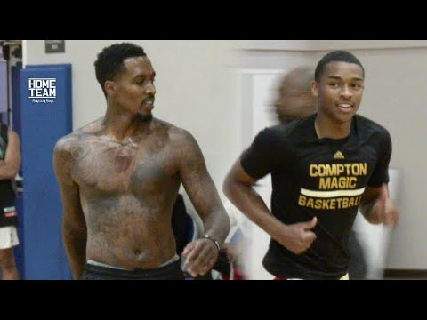 Brandon Jennings, Jaylen Hands, Julius Randle, Malcolm Brogdon, Pascal Siakam at Rico Hines UCLA Run