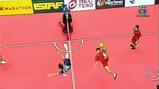 ISTAF Super Series 2013/14 Men's Final [MALAYSIA - THAILAND]