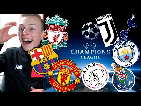 MAN UNITED GET BARCELONA!!! LIVE REACTION CHAMPIONS LEAGUE DRAW!!