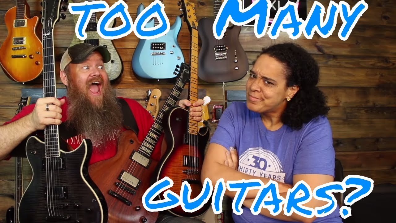 TOO MANY GUITARS?  Guitar Brands we like? Beginner Rock songs? ASK RNA