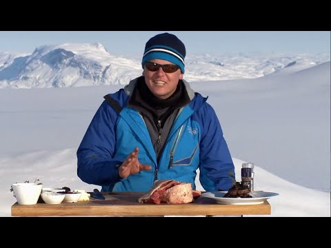 Cooking MUSK OX outside in Greenland!