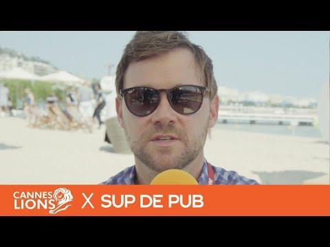 James Hunt, VP CNN International Commercial - #CannesStories by Sup de Pub