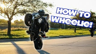 9. HOW TO WHEELIE A HONDA GROM!
