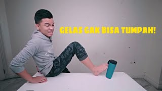 Video GELAS GAK BISA TUMPAH!   **not click bait** MP3, 3GP, MP4, WEBM, AVI, FLV November 2018