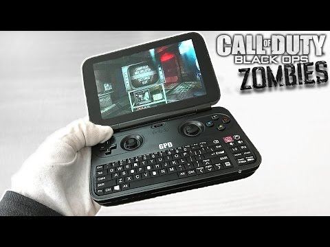 , title : 'WORLDS SMALLEST GAMING LAPTOP! Unboxing GPD Win 10 + Black Ops Zombies Gameplay'