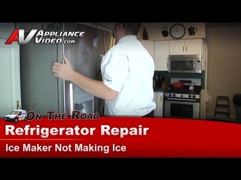 Maytag Refrigerator Repair – Ice Maker Not Making Ice – MFI2569YEMO