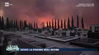 """LA PUNTATA INTEGRALE SU RAIPLAY https://goo.gl/scsdDbTUTTE LE PUNTATE http://www.raiplay.it/raiplay/programmi/lavitaindiretta - In questo periodo le nostre montagne stanno bruciando...""""un fenomeno """"criminale"""""""" dice il colonnello Roberto Ricciardi."""