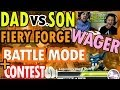 Skylanders Swap Force Dad Vs. Son Wager Battle Mode: Fiery Forge Battle Pack + Contest