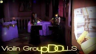 Электро-акустический неоновый дуэт Violin Group DOLLS