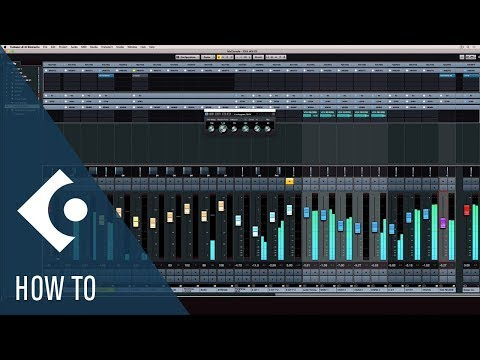 How to Mix and Export a Track in Cubase | Getting Started with Cubase