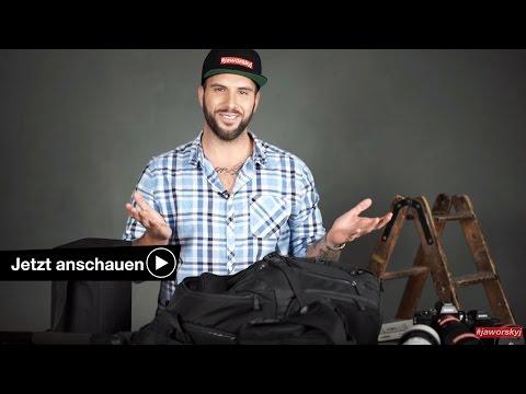 📷 WHAT'S IN MY BAG - LANDSCHAFTSFOTOGRAFIE EQUIPMENT BENJAMIN JAWORSKYJ