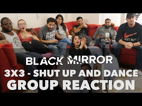 React Wheel: Black Mirror - 3x3 Shut Up and Dance - Group Reaction + Wheel spin!!!