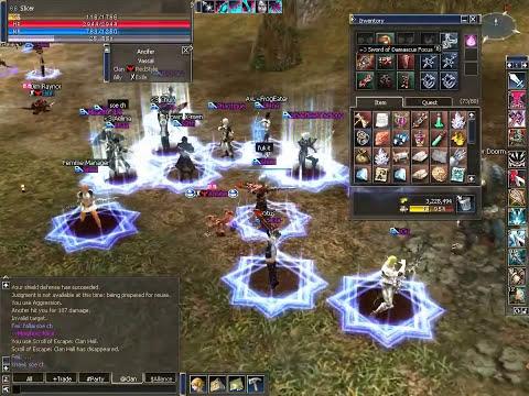 Lineage II – Avalanche – Beast Farm defense