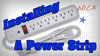 How To Install A Power Strip Surge Protector - FerryQuickTip