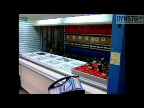 DYNSTO sells used vertical storage lift systems from KARDEX