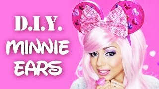 DIY Minnie Ears! - YouTube