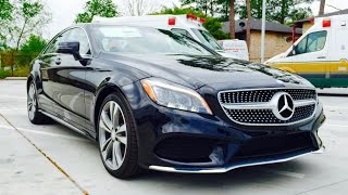 2015 Mercedes Benz CLS Class: CLS400 Coupe Full Review / Exhaust / Start Up