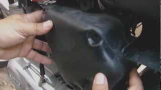 9. Como limpiar el filtro de aire de Moto ?