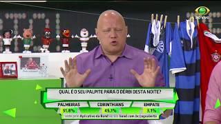 Equipe de comentaristas do Jogo Aberto fazem suas apostas para o dérbi, e a maioria acredita no empate.
