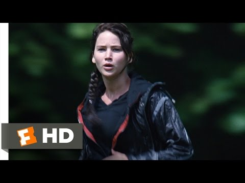 TheHungerGamesMovie - The Hunger Games Movie Clip - watch all clips http://j.mp/18UG0Fx click to subscribe http://j.mp/sNDUs5 Katniss Everdeen (Jennifer Lawrence) enters the Games...