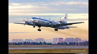 Download Lagu Ilyushin il-18 start engines and take off Mp3