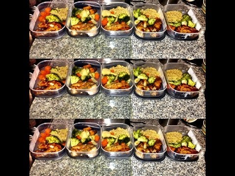 MEAL PREP FOR WEIGHT LOSS DETOXING CLEAN EATING