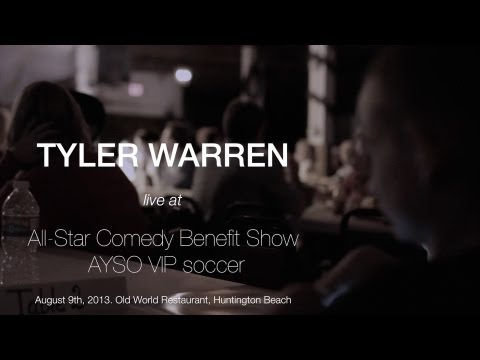 Tyler Warren Live at All-Star Comedy Benefit Show for AYSO VIP Soccer