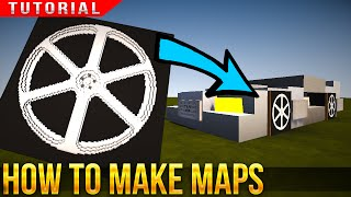 HOW TO MAKE CUSTOM MAPS! - Minecraft Tutorial - easy to follow tips!