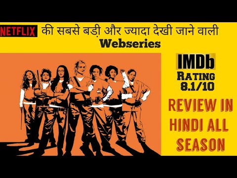 Orange is the new black review in hindi Netflix most watched Webseries all season review in one