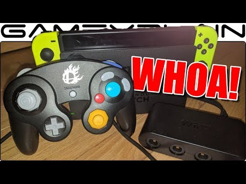 WHOA! GameCube Adapter Works on Nintendo Switch!  - We Show it Off!