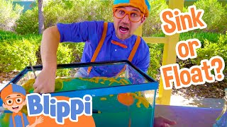 Video Science Videos for Kids with Blippi | Sink or Float MP3, 3GP, MP4, WEBM, AVI, FLV April 2019