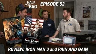 Video Half in the Bag Episode 52: Iron Man 3 and Pain & Gain MP3, 3GP, MP4, WEBM, AVI, FLV Mei 2018