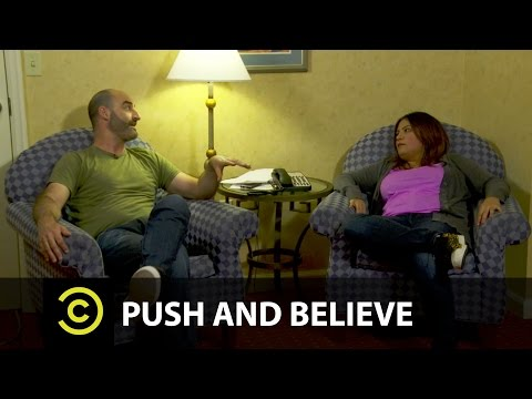 Push And Believe: Cristela Alonzo and Brody Stevens (from Comedy Central and CC: Studios)