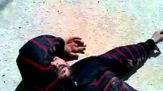 Cuplikan Video Seorang Syahid di Libya