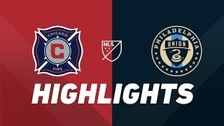 Chicago Fire vs. Philadelphia Union | HIGHLIGHTS - August 17, 2019 by Major League Soccer